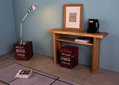 Legno&Design Console Table d'entrée en Bois de hêtre Massif Moderne