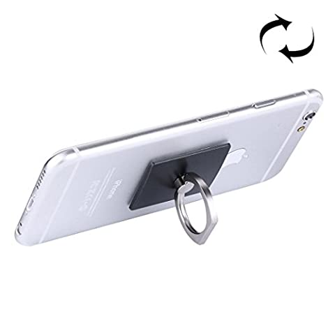 Finger Grip Ring, Fone-Stuff® - Rotating Metal Holder Stand with