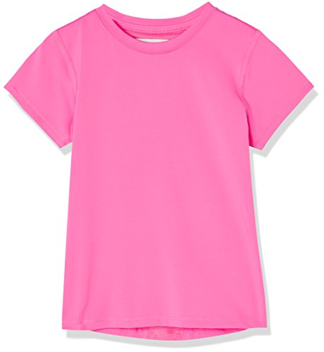RED WAGON Mädchen Atmungsaktives Sport T-Shirt, Rosa (Azalea), 104 (Herstellergröße: 4 Jahre) (Kind Azalea Kleines)