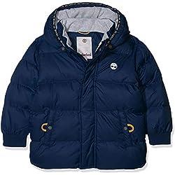 Timberland Doudoune Blouson, Bleu (Indigo Blue Beige 85t), Taille Fabricant: 09M Bébé garçon