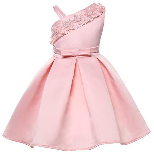 Ball Dance Kostüm Kleid - Jxth Kinderhochzeits-Party-Kleid Kinderbekleidung Mädchen Kleid Cute Princess Dress Bow Tutu Dress Kids Abschlussball Dance Ball Geburtstagskleid (Größe : 140cm)