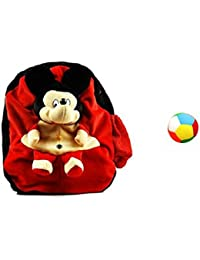 Jrp Mart Red Soft Toy Bag With Little Ball - B072MFKLFL