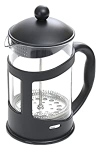 Mind Reader 27 oz. Glass French Press, Black
