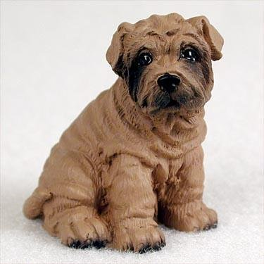 Shar Pei Miniature Dog Figurine - Brown by Conversation Concepts -