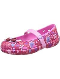 crocs Girl's Keeley Springtime Graphic Espadrille Flats