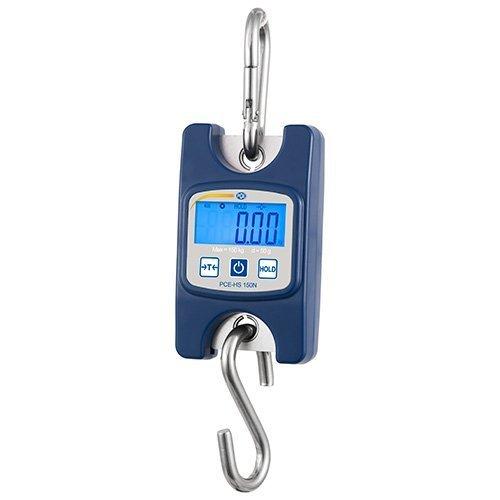 PCE Instruments Hängewaage PCE-HS 50N bis 50 kg / Maximalwertanzeige / Tierwiegefunktion / Auto-OFF deaktivierbar / Batteriebetrieb