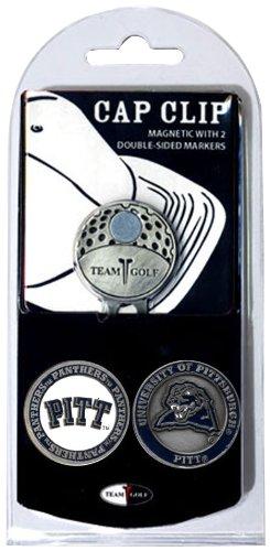 NCAA Gap Clip mit 2Golf Ball Marker, Herren Unisex Damen, Pittsburgh Panthers - Cadet Hut
