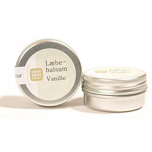 Baume à lèvre Vanille et Beurre de karité et cire d'abeille naturel artisanal 14 g