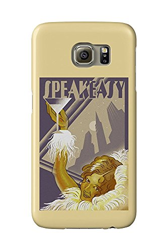 Speakeasy - Flapper Girl (Galaxy S6 Cell Phone Case, Slim Barely There)