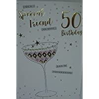 Special Friend On Your 50th Birthday - Birthday Card