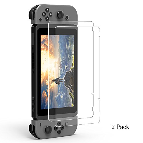 Price comparison product image 2Pack Nintendo Switch Screen Protector Kinps for Nintendo Switch 2017