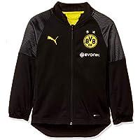 PUMA BVB Stadium Poly Jacket Jr with Sponsor Logo Chaqueta, Unisex niños