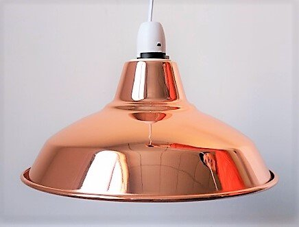 Vintage Retro Cafe Industrial Style Pendant Ceiling Shade (Copper)