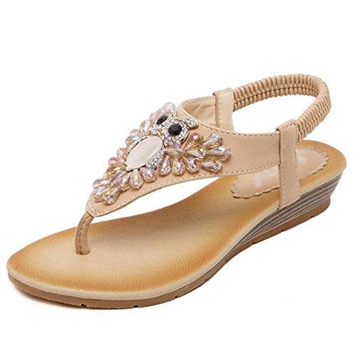 Sandalen Frauen Diamant wulstige Person Wort Prise Schuhe wilde Schuhe A