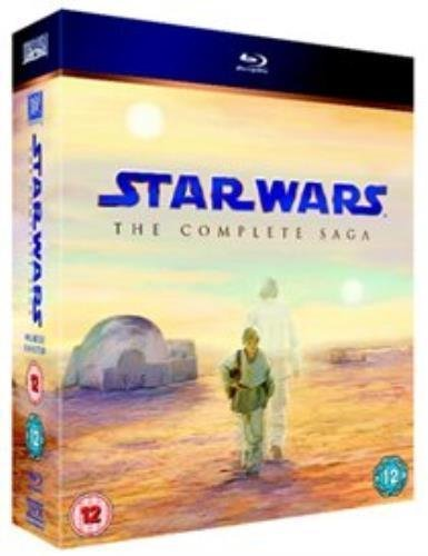 Generic Star Wars: The Complete Saga [Blu-ray] [2011] [Region Free], 5039036048453, Har.