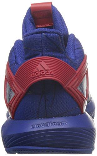 adidas Unisex-Kinder Spider-Man Rapidarun Sneakers Blau (Mystery Ink/mystery Ink/scarlet)