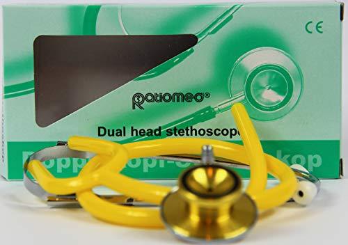 Stethoskop Doppelkopf ratiomed gelb