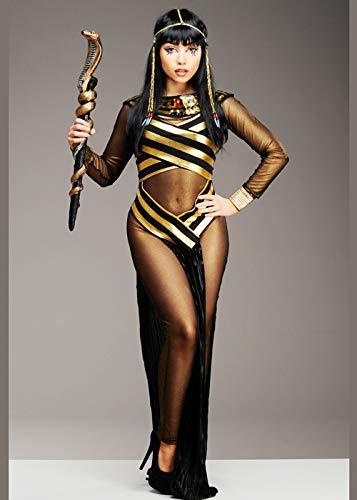 Magic Box Int. Womens Black ägyptische Göttin Cleopatra Kostüm M (UK 10-12)