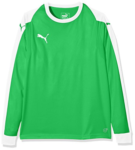 PUMA Kinder Liga Torwart Trikot, grün (Bright Green/Puma White), 152