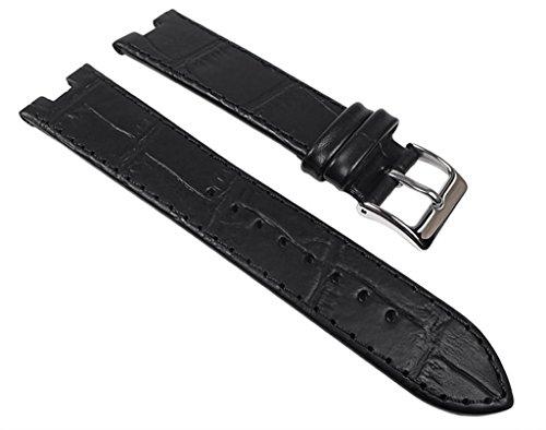 Festina Ersatzband Uhrenarmband Leder Band schwarz für Damenuhr F6749