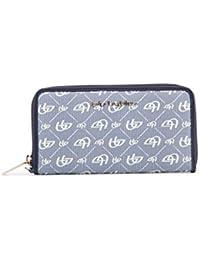 89b840a4e5 Blu Byblos Women Wallet Blue Genuine Designer Wallet