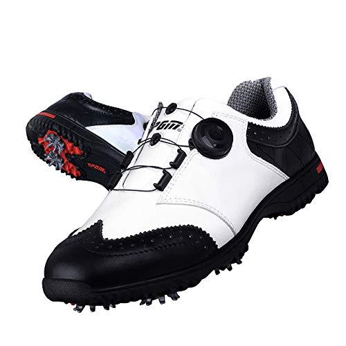 Scarpe da Golf da Uomo, Scarpe da Golf Impermeabili Leggere e Traspiranti ,Comfort Antiscivolo e Resistenza all'Usura Scarpe da Ginnastica da Trekking Golf
