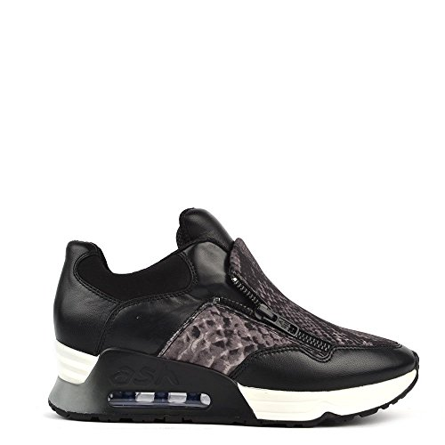 Ash Footwear Lenny Bis Black and Stone Trainer 41EU/8UK Black/Stone
