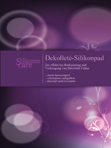 New Silicone-pad from Germany to eliminate and prevent chest wrinkles! REUSABLE FOR MONTHS! BESTSELLER IN GERMANY! by Silicone care by Silicone care