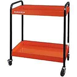 Bahco 1470KC2 - Carro 2 Bandejas Naranja