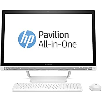 Hp pavilion 27 a103nf pc de bureau tout en un 27 full hd - Ordinateur de bureau hp intel core i7 ...