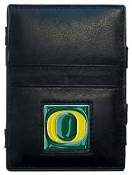 NCAA Oregon Ducks Leather Jacob's Ladder Wallet