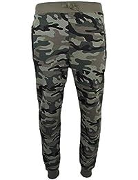 Jogginghose - Sporthose - Freizeithose - Trainingshose - Army Style - camouflage