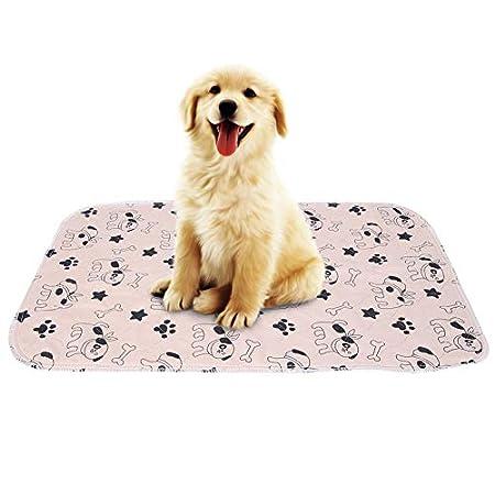Smandy Pet Pee Pad 3 Größen Wiederverwendbare Wasserdichte Welpen Hund Katze Pee Pads Bett Teppich waschbar saugfähig…