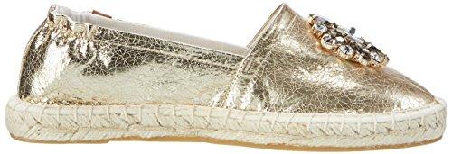 Tamaris Damen 24608 Slipper, Silber (LT.Gold Crack 947), 38 EU