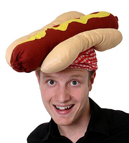 HOT DOG HUT SIEHT AUS WIE EIN WÜRSTCHEN IM BRÖTCHEN MIT (Hut Hot Dog)