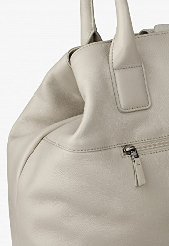 BREE, Borsa a spalla donna grigio ardesia 38 cm x 34cm x 14cm (BxHxT) cotton/kitt