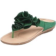4ba645ba9ea5f LUCKYCAT Amazon, Sandales d été Femme Chaussures de Été Sandales à Talons  Chaussures Plates