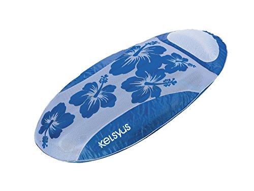 Kelsyus Sunsolite Schwimmende–Liege, blau (Valve Kissen)