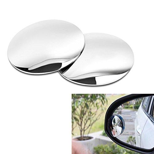 Haosen 2 Stück Auto Toter-Winkel-Spiegel blinder Fleckspiegel Außenspiegelsets & Ersatzteile - 360 Grad Einstellung,High Definition Glas Dual-Use kleinen runden Spiegel Blindspot-Spiegel