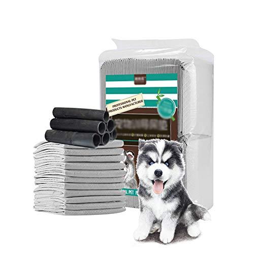 WXLJJYPD Tappetini Assorbenti Pannolini con Carbone Attivo per l'Addestramento di Cagnolini e Altri Animali Domestici,M
