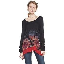 0ab20a91e486dd maglie lunghe donna - Desigual - Amazon.it