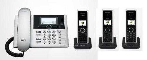 Telekom T-Home Sinus PA302i plus 3 , ISDN Telefon TRIO SET inkl. 3 Mobilteilen und Anrufbeantworter (Telefon-sets, Mobilteile 3)