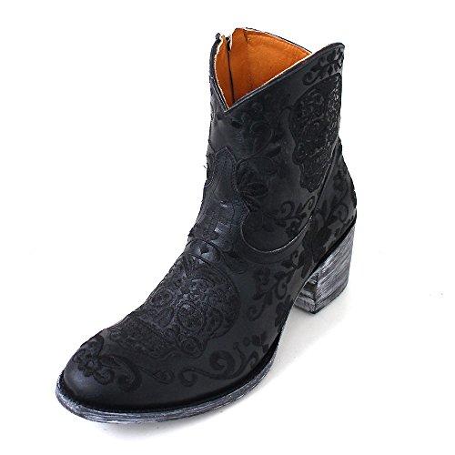 Mexicana - Stivali western Donna , nero (Schwarz (black vesuvio baby)),