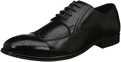 Alberto Torresi Men's Black Formal Shoes-10 UK/India (44 EU) (88396)
