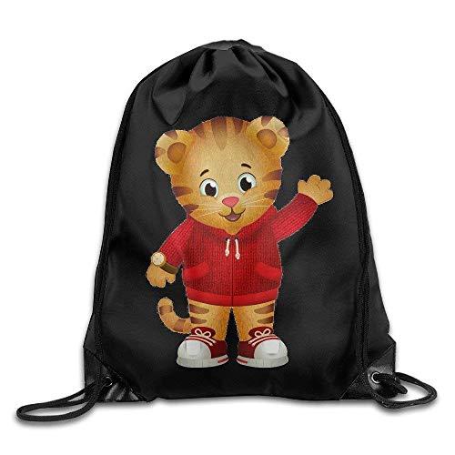 CHSUNHEY Turnbeutel,Sporttaschen,Eco-Friendly Luggage Drawstring Backpack Bag Daniel Tigers Neighborhood