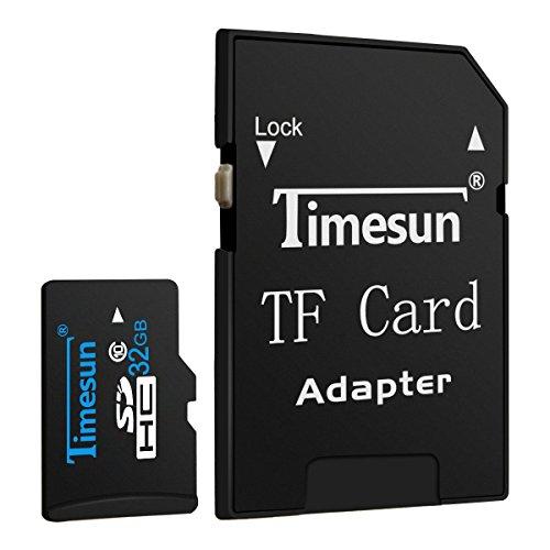 Secure Digital-karten-adapter (Timesun® 32GB Micro TF Karte Speicherkarte Speicher Memory Card Class10 mit SDHC Adapter (32GB))