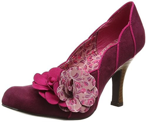 Ruby Shoo April, Damen Pumps, Purple (Plum), 37 EU (4 UK)