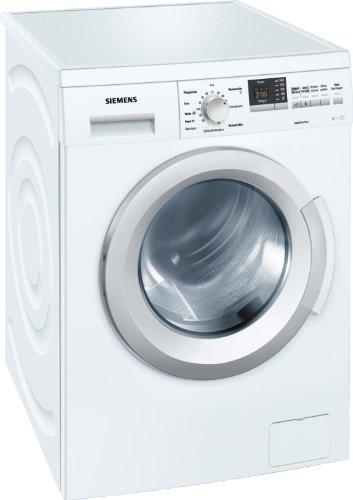 Siemens WM14Q3A1 Waschmaschine Frontlader / A+++ / 1400 UpM / 7 kg / weiß / 15-Minutenprogramm / Schaumerkennung