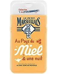 Le Petit Marseillais Gel Douche Hydratant au Miel de Provence 250 ml - Lot de 3