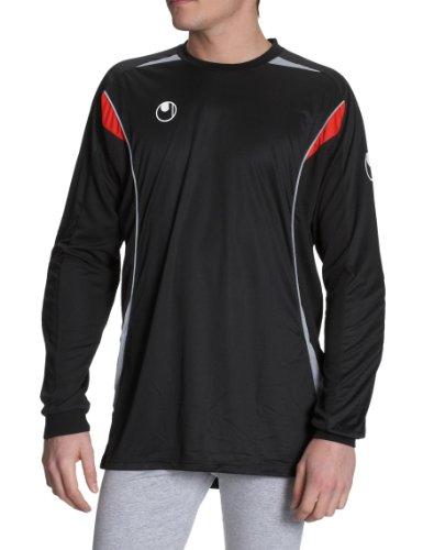 Uhlsport Infinity - Camiseta para hombre, tamaño M, color gris/negro